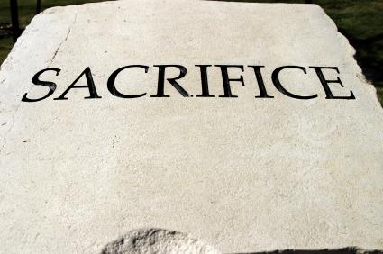 Character traits series - SACRIFICE
